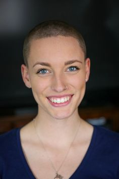 aardvarksally:  Today was the day!!!!! My family and I shaved our heads in honor of those who have fought and succumbed, those who have fought and won, and those who are still fighting [cancer]