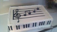 "Piano Recital Cake- especially good for anyone named ""Gabe"" ! *cheshire grin*"