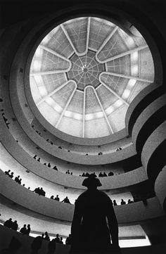 Opening of the Guggenheim Museum, New York City, 1959.  Photo: Dennis Stock.