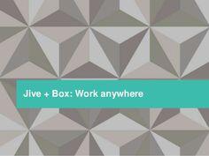 Jive + Box: Work anywhere