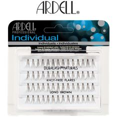 d70778ad4ad ARDELL Individual Duralash Naturals Knot-Free Flares Long Brown EL-65055  ARDELL Individual Duralash gives lashes the thicker, longer,  attention-getting look ...