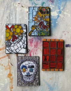 mosaic artist trading cards