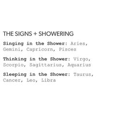 I've honestly done all three. Hahaha and yet I'm only listed for sleeping in the shower.