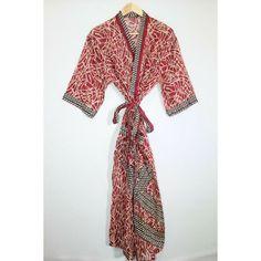 nightwear kimono beach robe,bath robe maternity robe,bridal kimono cotton robe,bridesmaid robe Indian handmade grey floral print kimono