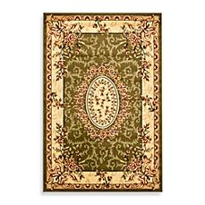 image of Safavieh Lyndhurst Collection Rugs in Sage/Ivory