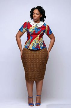 FULL-FIGURED ANKARA OUTFIT INSPIRATIONS