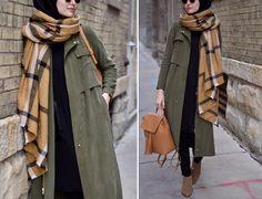 Hijab Casual, Hijab Chic, Islamic Fashion, Muslim Fashion, Modest Fashion, Fashion Outfits, Hijab Elegante, Modest Winter Outfits, Street Hijab Fashion