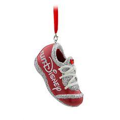 runDisney Sneaker Ornament - Red, Reindeer run, Item No. 7509055890380P