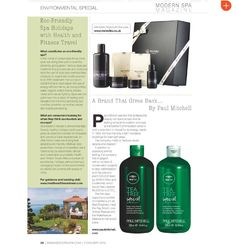 Modern Spa Magazine Eco Chic