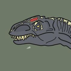 Jurassic World 3, Cool Dinosaurs, Godzilla, Dinosaur Art, Overwatch, Foto E Video, Beast, Art Drawings, Character Design