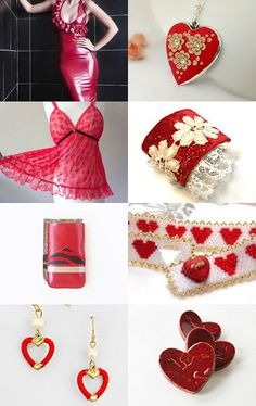 Give her something RED by JoJo on Etsy--Pinned with TreasuryPin.com