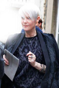 Fur Coat Collar Paris Street Style - Paris Fashion Week Spring 2013 Style - ELLE