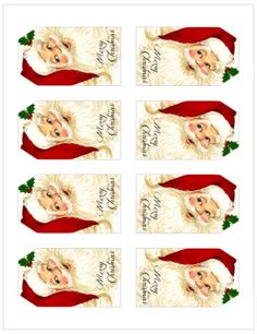These free printable vintage Christmas gift tags were inspired by vintage Christmas cards and add a festive touch to your gift wrapping! Free Printable Christmas Gift Tags, Holiday Gift Tags, Christmas Gift Box, Vintage Christmas Cards, Christmas Stockings, Printable Vintage, Wrapping, Gift Wrapper, Scandinavian Christmas