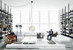 In Milan DePadova has a new showroom by Piero Lissoni