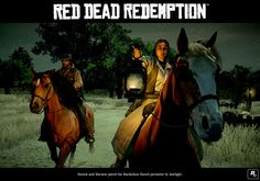 Official Red Dead Redemption Images from Rockstar Games