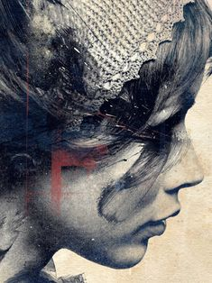 beautiful and emotive illustration by Russ Mills. Photocollage, Graphic, Love Art, Painting & Drawing, Amazing Art, Awesome, Art Photography, Illustration Art, Artwork