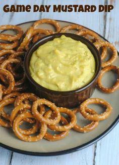 Game Day Mustard Dip Recipe