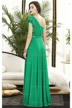 Nectarean Wedding Floor-length Chiffon A-line Party Dresses - Long bridesmaid dresses - Bridesmaid Dresses - Wedding Party Dresses - Dresshop.net.au
