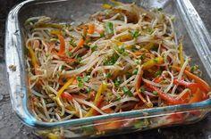 Salada de broto de feijão: rápida e cheia de sabor!