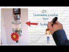 bebedero picaflor reciclable - YouTube