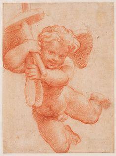 Raphael (Raffaello Sanzio), 1483-1520, Italian, Putto with the attributes of Vulcan, 1518. High Renaissance.
