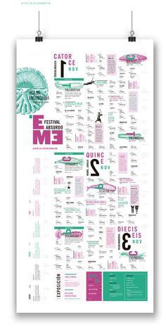 EME- Festival Absurdo on Behance