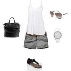 Love this summer casual style!