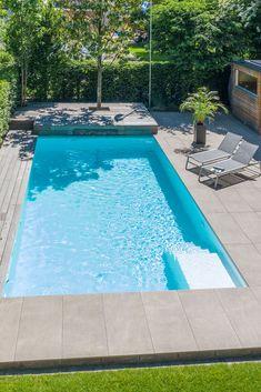 Backyard Pool Designs, Swimming Pool Designs, Swimming Pools, Swimming Pool Architecture, Kleiner Pool Design, Jacuzzi, Mini Pool, Mountain Cottage, Luxury Dining Room