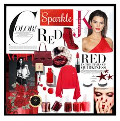 Designer Clothes, Shoes & Bags for Women Essie, Color Red, Kendall, Fendi, Topshop, My Style, Polyvore, Stuff To Buy, Shopping