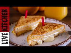 Δεν θα Ξανακάνετε Άλλο Πρωινό αν δοκιμάσετε αυτή την συνταγή!! - How to Make One Pan Egg Sandwich - YouTube Easy Cooking, Cooking Recipes, Birthday Candles, Breakfast, Youtube, Food, Morning Coffee, Eten