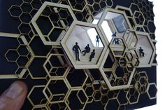rojkind architects explore a hexagonal dynamic facade with the liverpool department store. using scaled versions of the hexagon, the new department store's facade is composed of three layers in an extended outer skin that acts as a showroom.