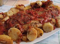 Πέρκα στο φούρνο Greek Recipes, Fish Recipes, Seafood Recipes, Cooking Recipes, Greek Cooking, Fish And Seafood, Better Life, Pork, Food And Drink