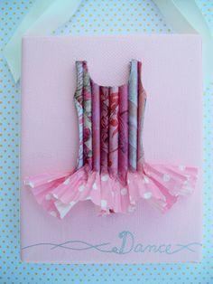 Dance - Ballerina - tutu -girls room or nursery wall art