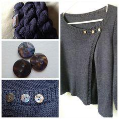 Askew cardigan - knit.wear Spring 2013
