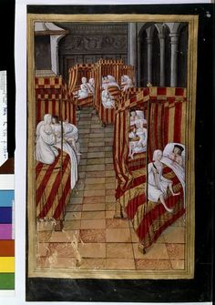 """""""Danaïdes tuant leurs maris"""", in """"Heroides"""", by Ovide, Français 874, fol. 170v, début 16e siècle"""