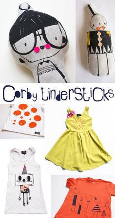 corby+tinkerstick-+plush+and+kids+clothes+with+amazing+illusrations.jpg 650×1,226 pixels
