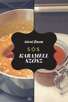 Sós karamell szósz recept – Tortaiskola
