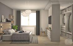 Master Bedroom Layout, Bedroom Closet Design, Home Room Design, Bedroom Layouts, Modern Bedroom, Bedroom Decor, Dressing Room Design, Home Building Design, Apartment Interior Design
