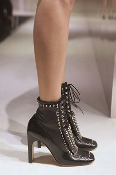 store with big discount discount wiki Sergio Rossi studded lace-up ankle boots cheap geniue stockist cheap websites Pa0N1gQ1
