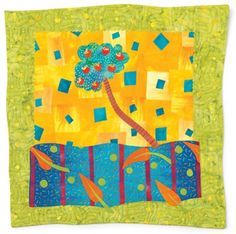 """Escapelands #1"" by Laura Wasilowski - Media - Quilting Daily"