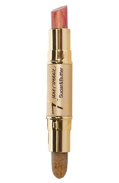 Sweeten your travel satchel with Jane Iredale 'Sugar  Butter' Lip Exfoliator  Plumper.