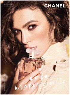 Keira Knightley's hair in the new Macy's Chanel commercial. Want!