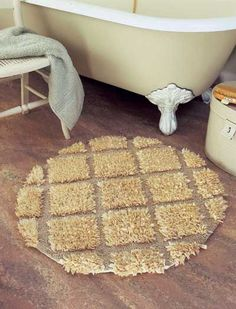 Bath mat tutorial