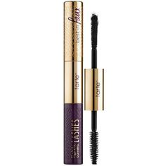 tarte Lights, Camera, Lashes Double-Ended Mascara And Lash Fibers (€34) ❤ liked on Polyvore featuring beauty products, makeup, eye makeup, mascara, tarte and tarte mascara