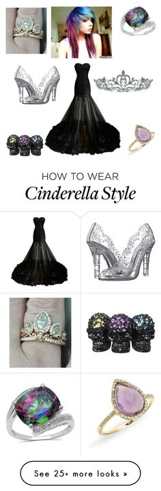 """I a princess"" by killjoy-717 on Polyvore featuring Dolce&Gabbana, Kate Marie, Disney, Palm Beach Jewelry and Plukka"