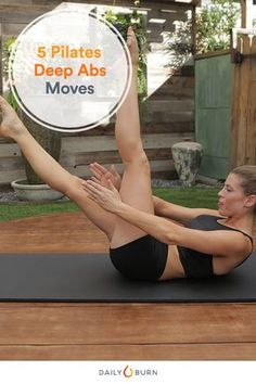 Your transverse abdominis stabilizes your spine and supports your hips and pelvis. These Pilates exercises go deep to target those key core muscles. via @dailyburn