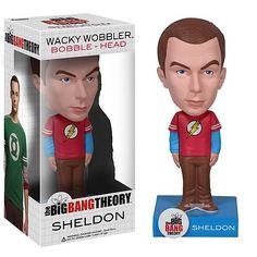 Big Bang Theory Sheldon Wacky Wobbler Bobblehead $15.95