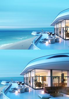 Home Designing (via Faena House: Miami Beachside Penthouse With... via homedesigning