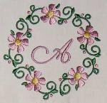 Fancy Daisy Monogram Alpha Set