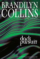 Brandilyn Collins - Dark Pursuit.  Great Christian suspense author